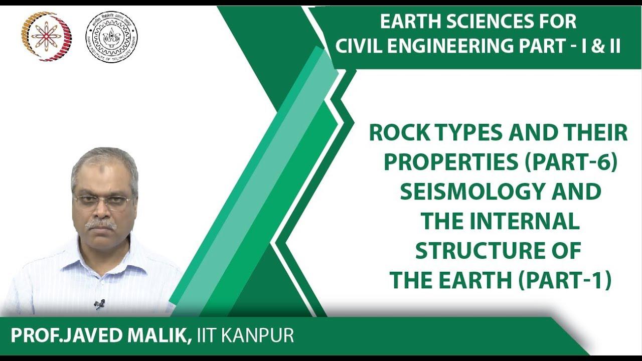 NPTEL :: Civil Engineering - NOC:Earth Sciences For Civil