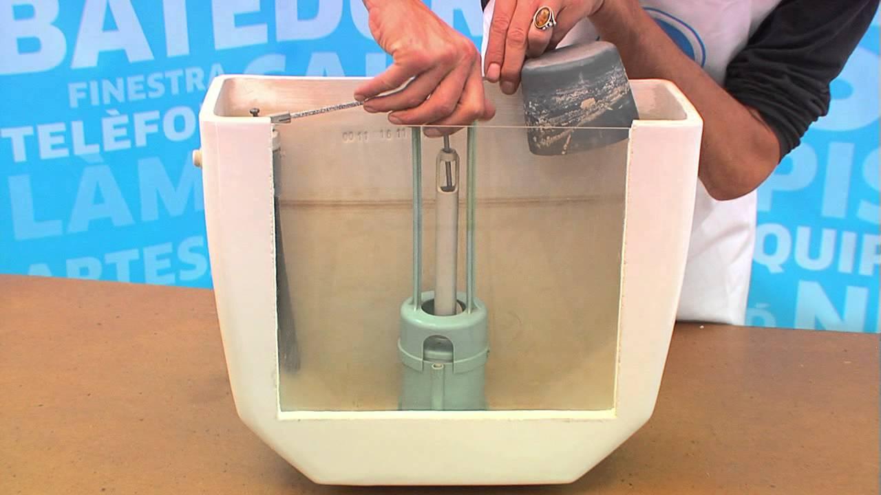 Reparaci de la desc rrega de la cisterna del v ter youtube for Cisterna vater