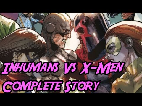 Inhumans Vs X-men. The Complete Story