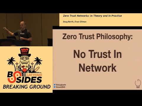 BG - Zero Trust Networks: In Theory and in Practice  - Doug Barth & Evan Gilman