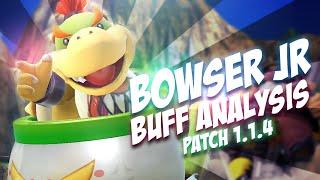 Bowser Jr Analysis Post Patch 1.14 Buff - Smash Bros Wii U - ZeRo