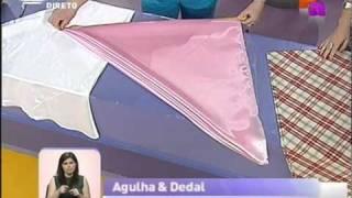 Dicas de costura – Aprenda a fazer toalhas redondas