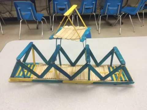 Ruleville Middle School Popsicle Bridge Building Competition
