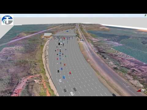 Maputo Toll Plaza Expansion - VISSIM Microsimulation