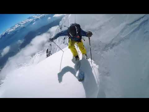 GoPro Line of the Winter  Nicolas Falquet   Switzerland 4 14 15   Snow