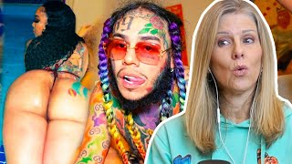 Mom REACTS To 6IX9INE - ZAZA (Official Music Video)