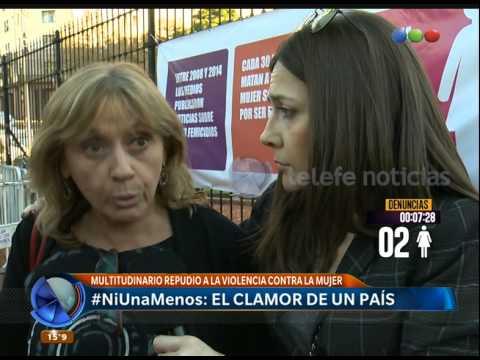 #NiUnaMenos, no a la violencia de género - Telefe Noticias