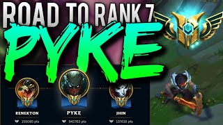 ROAD TO CHAMPION MASTERY 7 PYKE [ THE RETURN ]