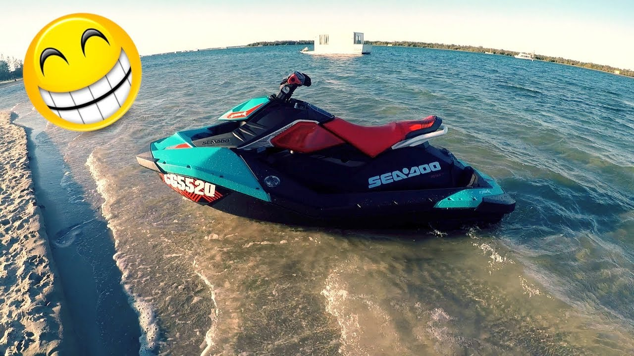 taking delivery of a sea doo spark trixx youtube. Black Bedroom Furniture Sets. Home Design Ideas