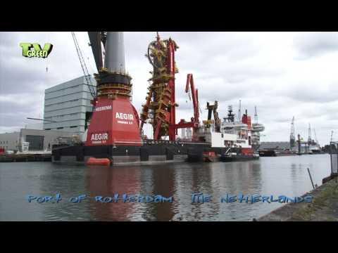 Heerema Aegir - a Deepwater Construction Vessel