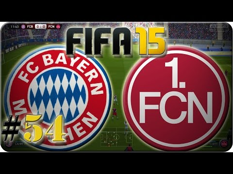 FC Bayern München vs 1. FC Nürnberg (Let´s Play #54) Fifa 15 Trainerkarriere