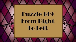 Professor Layton and the Miracle Mask - Puzzle 149: From Right To Left