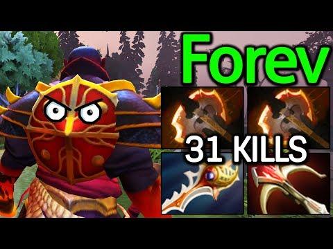 Forev Dota 2 [Ember Spirit] Insane Physical Damage Build | 31 Kills
