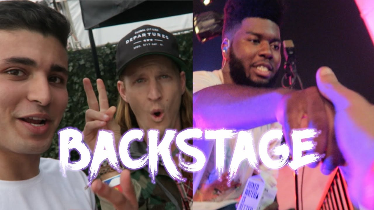HOW TO SNEAK BACKSTAGE AT A KHALID CONCERT FT RORY KRAMER