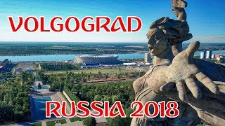 VOLGOGRAD - 2018 FIFA World Cup Host City