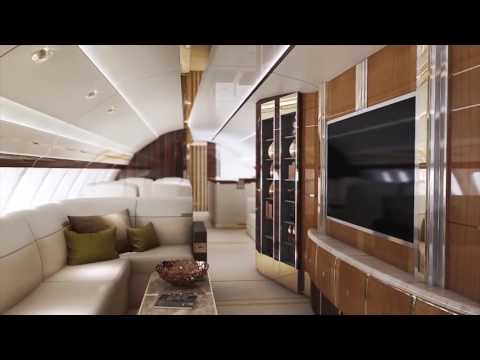 Most Luxurious Plane - Boeing 747-8 VIP