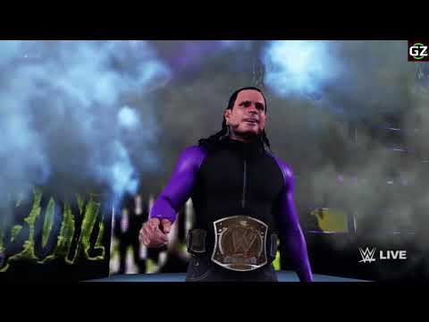 WWE 2K18 : JEFF HARDY ENTRANCE WITH ( NO MORE WORDS THEME)