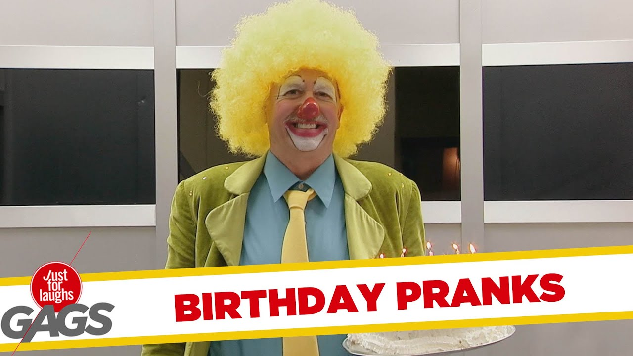 Best of Birthday Pranks - Best of Just for Laughs Gags