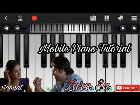Zara sa (jannat) easy mobile perfect piano