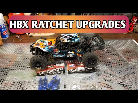 HAIBOXING RC Cars Upgrade Parts Front/&Rear Metal Oil Damper Shocks Apply to HBX 18858-18856