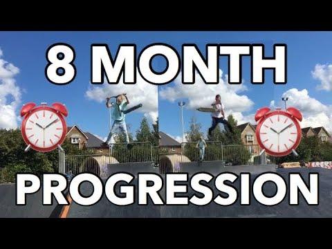Cameron Jones & Alfie Bitmead | Our Promise | 8 Month Scooter Progression