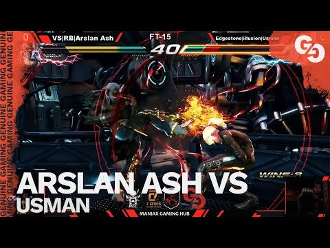 ARSLAN ASH VS THE BEST NINA IN THE WORLD // Arslan Ash (Leroy) Vs Usman (Nina) // FT15