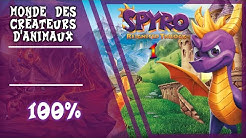 Spyro 1 Ps4 Monde des Créateurs d'animaux - Maison a 100 %