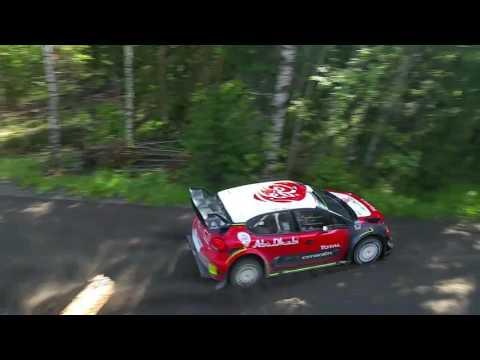 Sheikh Khalid Al Qassimi testing for Rally Finland 2017