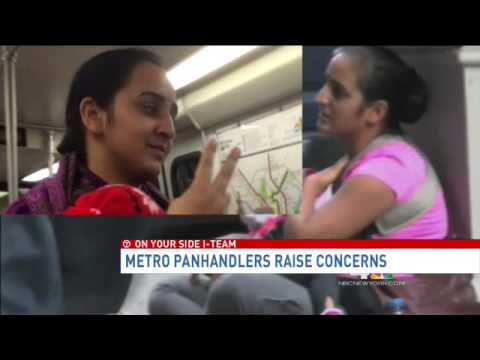 Women panhandling with infants on Metro draw concern, suspicion