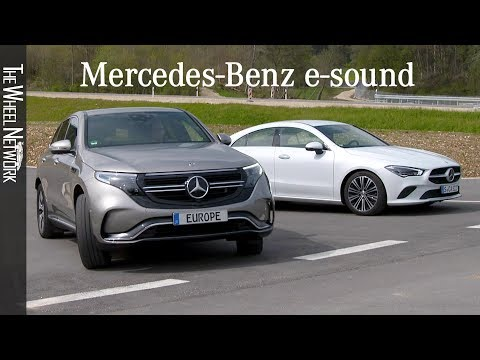 Mercedes Benz e-sound – Acoustic Vehicle Alerting System (AVAS) for Electric Cars