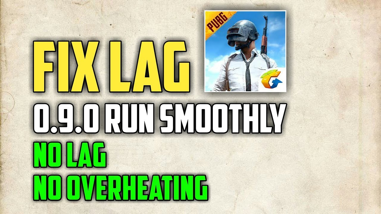 PUBG MOBILE How to FIX LAG | Run Smoothly on All Device No Ban