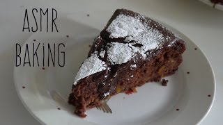 ◆ Asmr Baking ◆ Vegan Chocolate Cake | Softly Spoken