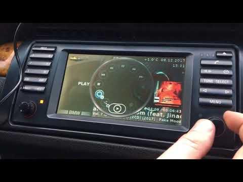Штатная магнитола IDrive Plus BMW E39 E46 E38 E53 E83 кодировки и настройки