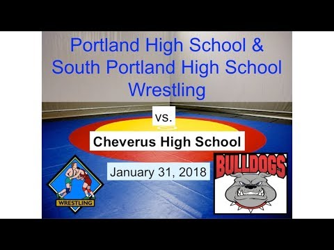 Portland High/South Portland High Wrestling vs. Cheverus January 31, 2018