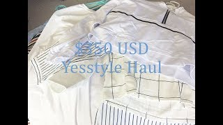 $350 Yesstyle Haul + Try on