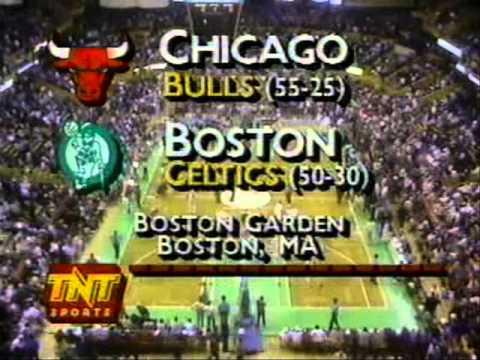 NBA on TNT Intro (April 20, 1990): Celtics/Bulls