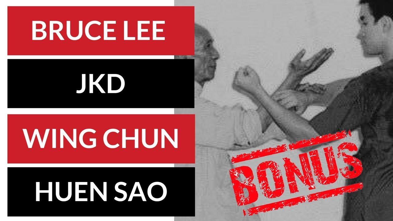 Bruce Lee Jeet Kune Do Trapping Techniques Wing Chung Huen Sao