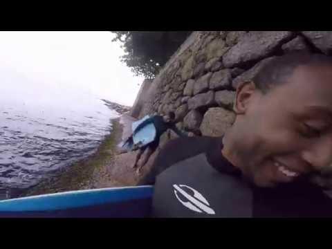 Um dia de surf com os haoles - shorebreak - Rio de janeiro