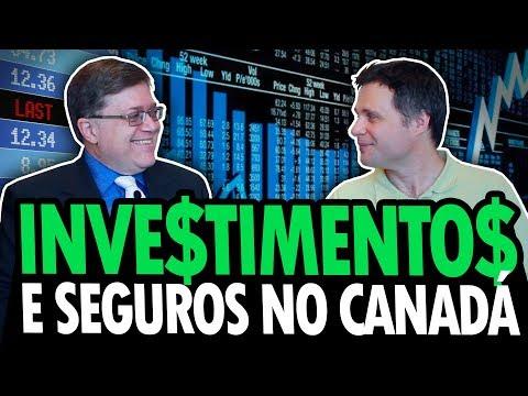 COMO GANHAR DINHEIRO NO CANADÁ - INVESTIMENTOS E SEGUROS NO CANADÁ #1