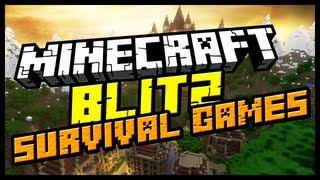 Minecraft: Minigame - PATRYK VS TEAM, KTO WYGRA? (Blitz Survival Games)