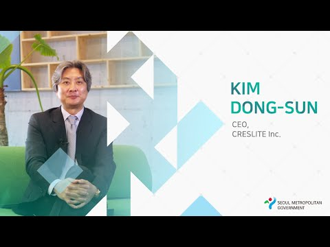[Invest Seoul CEO Interview] Kim Dong-sun, CEO of CRESLITE Inc.
