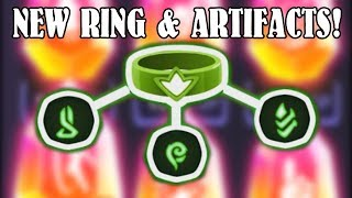 NEW RING AND MYTHICAL ARTIFACTS! Almost A Hero