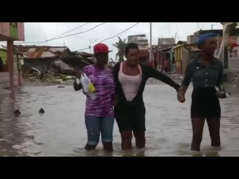 Hurricane Matthew Devastates Haitian City Of Les Cayes Youtube