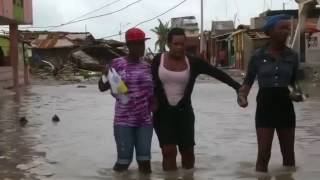 Hurricane Matthew devastates Haitian city of Les Cayes
