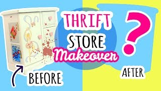 Hey everyone! Today I am going to do another thrift store makeover! If you haven't already seen the first one, here it is: ...
