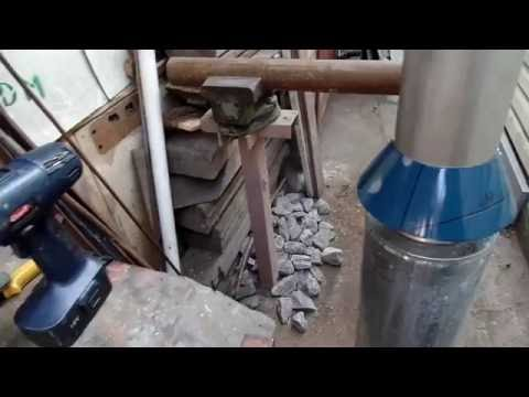 Как сделать усеченный конус на дымоотводящую трубу своими руками