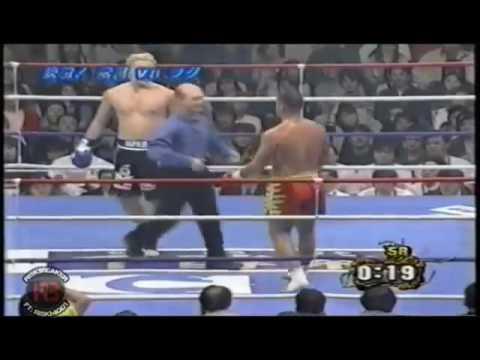 Andy hug vs Musashi trek jean klode van damme 2000 spirit k1
