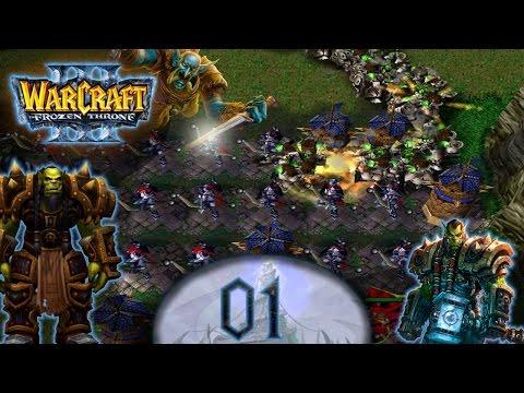 Let's Play Warcraft 3 TD #01 - Die ersten Mauern stehen [Deutsch/German]