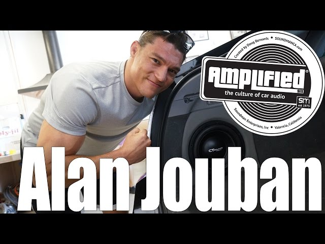 UFC Fighter Alan Joubans CT Sounds Prius Car Stereo System