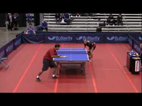 Men's Singles Rd 16: Chance Friend vs Shashin Shodhan - 2011 US Table Tennis Championships